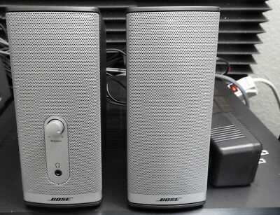 BOSE Companion 2/Series II (Multimedia Speaker Systen) EXCELLENT!!!