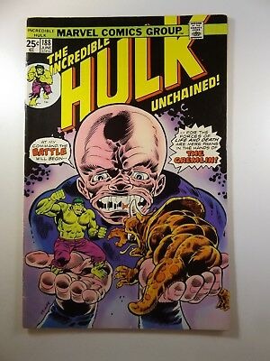 """The Incredible Hulk #188 """"Unchained!"""" Fine+ Condition!"""