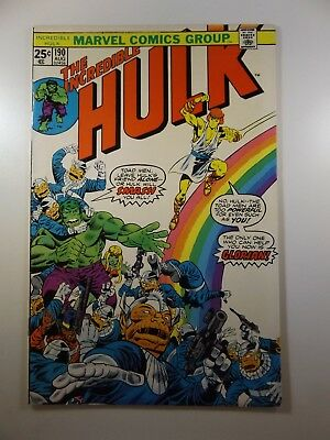 The Incredible Hulk #190 Glorian Appears Wonderful Read!! VG+ Condition!