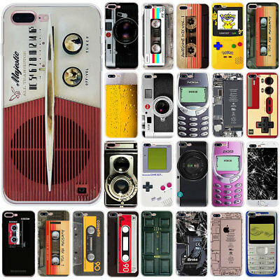 Camera Pattern Slim Soft Rubber Phone Case Cover For Iphone 6 6S 7 8 PLUS 5 5S