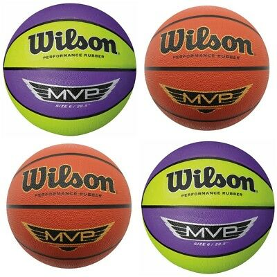 Wilson MVP Series Heritage Basketball Outdoor Ball Size 5, 6, 7