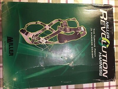 MILLER R5  REVOLUTION 3 point SAFETY HARNESS - Brand New in Box with tags