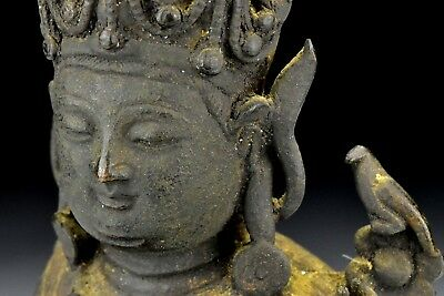 Antique Chinese Bronze Buddha Ming Dynasty 16th / 17th Century