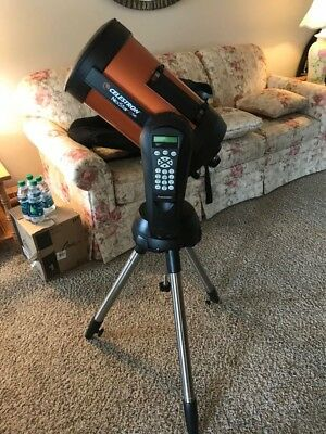 Celestron NexStar 8SE telescope used with all accessories