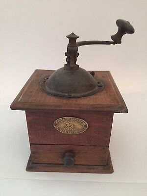 Vintage French Peugeot Coffee Grinder Lovely Condition