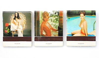 Dick's Last Resort Downtown San Antonio Topless 3 Piece Vintage Matchbook Lot