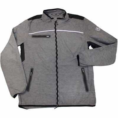 Aa Platinum Mens Cuneo Packable Windbreaker Jacket Riding - Grey All Sizes