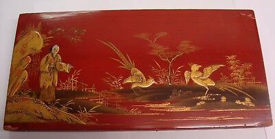Antique Chinese Picture on Wood