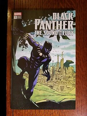 Black Panther The Sound & the Fury #1 eBay EXCLUSIVE Sanford Greene Variant NM!
