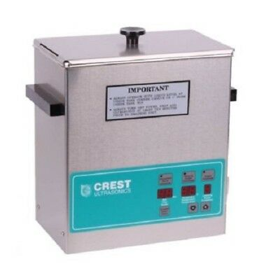 Crest Powersonics Cp360d Ultrasonic Cleaner W Digital Timer Heat 1 Gallon