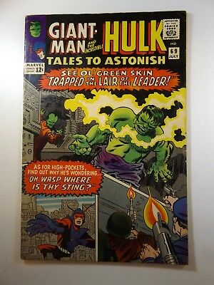 "Tales to Astonish #69 ""Oh Wasp, Where is Thy Sting?"" VG+ Condition!!"