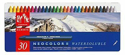 "Creative Art Materials ""Caran D'Ache NeoColor II"" Water Soluble Wax Pastel Set,"