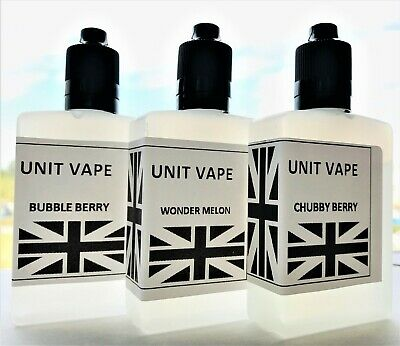 Vape Unit 60ML E LIQUID 80VG/20PG Vape Juice Shisha 0mg 3mg 6mg Nic ELIQUID