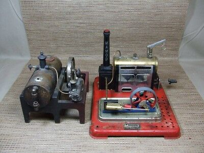 (2) Vintage Steam Engines Made by MAMOD and WEEDEN