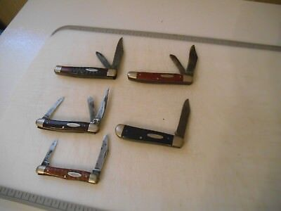 Vintage Pocket Knife Lot Of 5 Case Xx Usa Pocket Knives. Old Ones