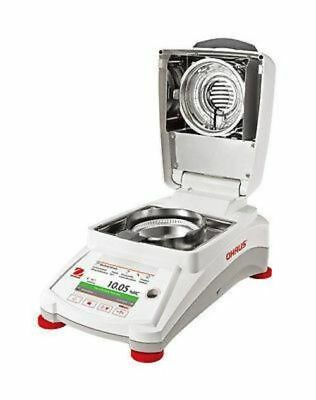 OHAUS MB120 Halogen Heating MOISTURE ANALYZER 120g 0.001g  2YWARRANTY