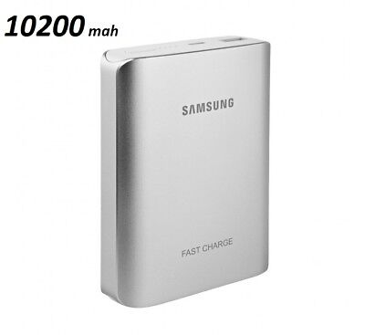OEM Samsung Fast Charge 10200mAh EB-PN930 Portable Battery Pack Silver Universal