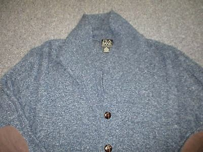 Very Nice Mens Jos A Bank Button Up Wool Shawl Cardigan Sweater Size Xl