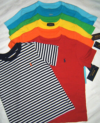 Polo Ralph Lauren Pony T-Shirt Boy Size 4  6 7  L 14-16 XL18-20 S/S  NWT