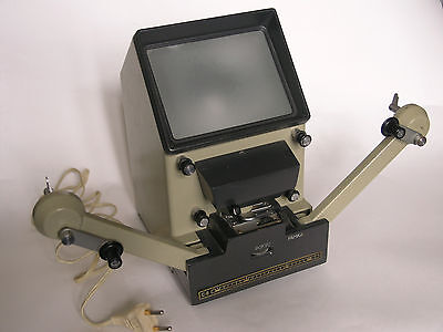 Super 8mm movie cine film editor previewer projector screen Kupava-S8 spare lamp