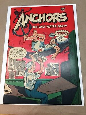 Anchors Andrews #2 (1953) F- OW Nice Book!