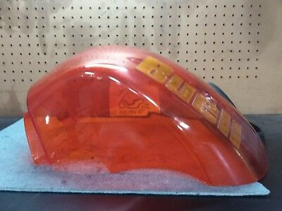 2004 04 Buell lightning XB12s Gas Fuel Tank cover damaged
