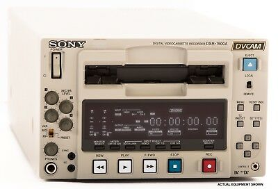 Sony DSR-1500A DVCAM Compact Player/Recorder GREAT CONDITION!!