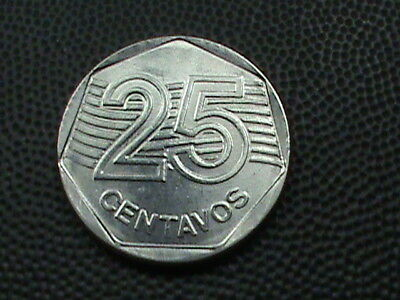 BRAZIL  25 Centavos  1994  UNCIRCULATED   $ 2.99  maximum  shipping  in  USA