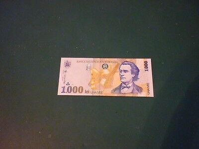 Romania 1,000 Lei Uncirculated Banknote