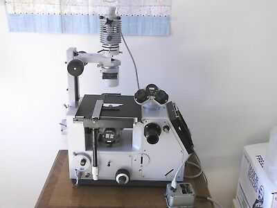 Zeiss inverted photo microscope ICM-405 Phase Contrast, Fluorescence  IM