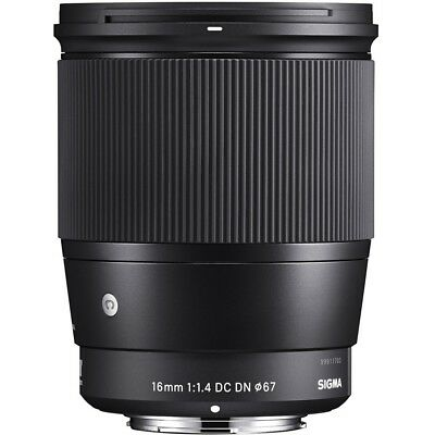Sigma 16mm f1. 4 DC DN [C] for Sony-E