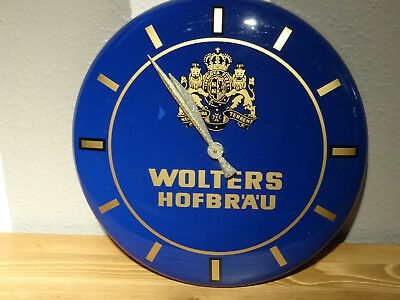 Wolters Werbe-Wanduhr
