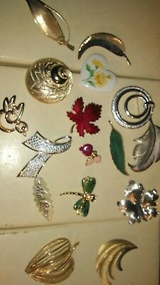 16 broaches of various sizes