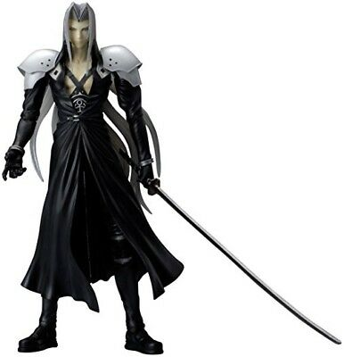 """TOY Play Arts Final Fantasy VII SEPHIROTH FIGURE Action Figurine 8"""" Loose"""