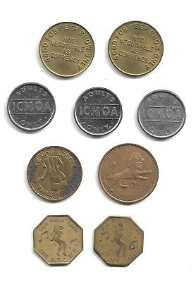 """""""Adult"""" Entertainment Tokens – 9"""