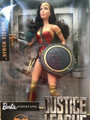 NEW Barbie Wonder Woman Signature Doll Justice League DC Comics Collectible
