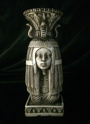EGYPT ANCIENT EGYPTIAN STATUE Queen AHMOSE NEFERTARI Head Carved STONE BC