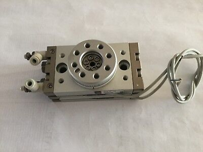 SMC  MSQB10A-F9N  Rotary Table/Rack &Pinion Type. Used