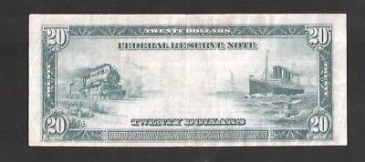 Rare New 2 Type-A $20 Large Federal Reserve Note
