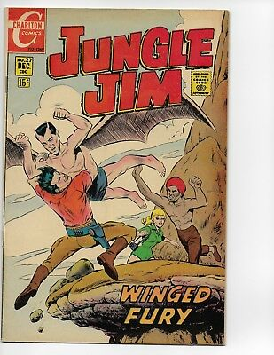 Jungle Jim (1969 series) #27 in Very Good Plus Silver age