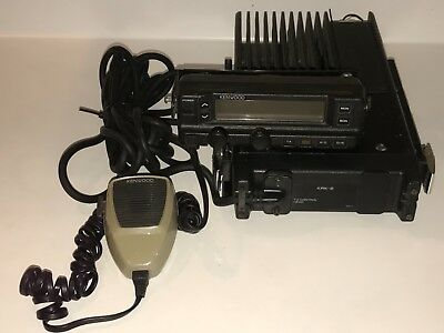 Kenwood TK630H Lowband FM Transceiver TK-630H With Mic and Control Head