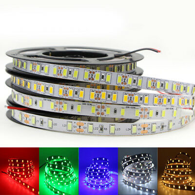 led strip 5630 5730 DC 12V waterproof tape light 60led/m 120led/m rope stripe 5m