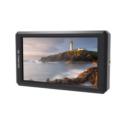 "US Warehouse Feelworld F6 Full HD On-Camera Monitor 5.7"" IPS with 4K HDMI Input"