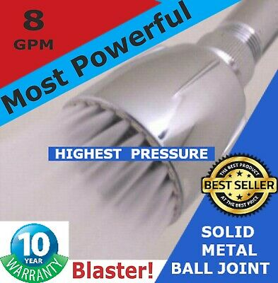 High Pressure Shower Heads - The Original High Flow Glorious 12 GPM Drencher