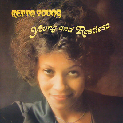 Retta Young - Young And Restless ( Vinyl Lp ) Neu Re 1977/2017