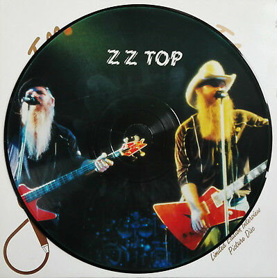ZZ TOP - Limited Edition Interview Picture Disc LP UK
