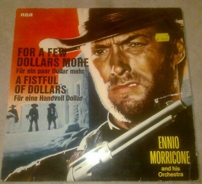 2 Lp's For a few Dollars More / The  good, The Bad and the Ugly