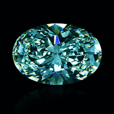 Loose Moissanite Blue VVS1 5.50 MM to 9.50 MM Round Brilliant Cut