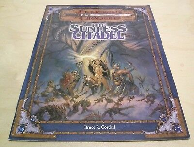 Dungeons and Dragons - d20 D&D - The Sunless Citadel - Bruce R. Cordell