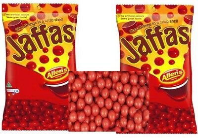Sweets Allens Jaffas 1kg Candy Buffet Red Bulk Party Lollies Favors Treats Bag